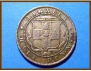 Ямайка 1/2 пенни 1885 г.