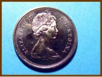 Канада 25 центов 1969 г.