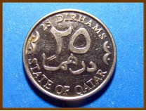Монета Катар 25 дирхам