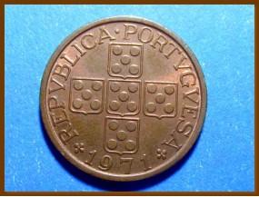 Монета Португалия 50 сентаво 1971 г.