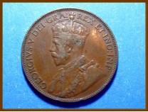Канада 1 цент 1936 г. Ньюфаундленд