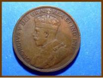 Канада 1 цент 1919 г. Ньюфаундленд