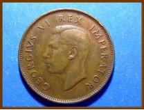 Южная Африка ЮАР 1/2 пенни 1945 г.