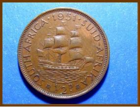 Южная Африка ЮАР 1/2 пенни 1951 г.