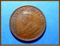 Индия 1/2 пайсы 1936 г.