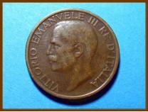 Италия 10 чентезимо 1921 г.