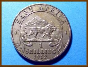 Восточная Африка 1 шиллинг 1952 г.