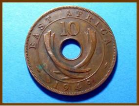 Восточная Африка 10 цент 1949 г.
