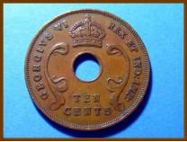 Восточная Африка 10 цент 1945 г.