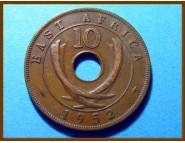 Восточная Африка 10 цент 1952 г.