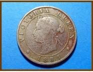 Ямайка 1/2 пенни 1884 г.