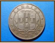 Ямайка 1 пенни 1919 г.