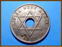 Британская Западная Африка 1 пенни 1919 г.