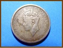 Британская Западная Африка 3 пенса 1943 г.
