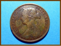 Канада Нью-Брансуик 1 цент 1861 г.