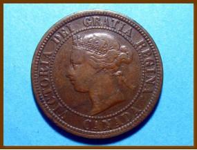 Канада 1 цент 1876 г.