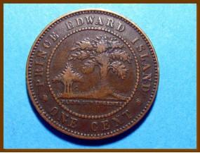 Канада Остров Принца Эдварда 1 цент 1871 г.