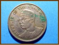 Гамбия 25 бутутов 1971 г.