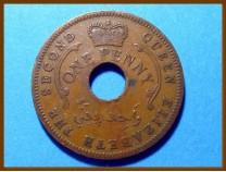 Нигерия 1 пенни 1959 г.