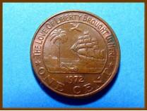 Либерия 1 цент 1972 г.
