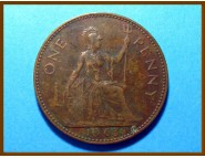 Великобритания 1 пенни 1963 г.