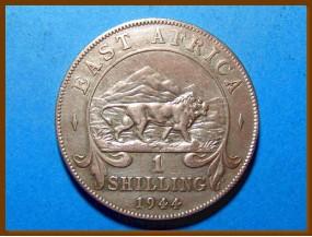 Восточная Африка 1 шиллинг 1944 г. Серебро