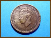 Британская Западная Африка 1 шиллинг 1943 г.