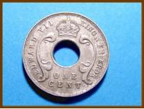 Восточная Африка и Уганда 1 цент 1907 г.