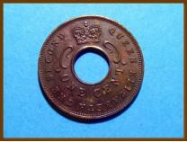 Восточная Африка 1 цент 1963 г.