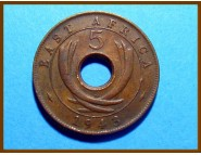 Восточная Африка 5 центов 1943 г.