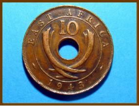 Восточная Африка 10 цент 1943 г.