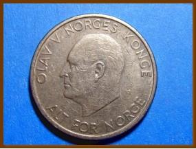 Монета Норвегия 5 крон 1969 г.
