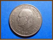 Монета Норвегия 5 крон 1964 г.