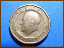 Монета Норвегия 10 крон 1984 г.
