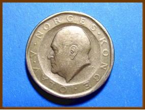 Монета Норвегия 10 крон 1983 г.