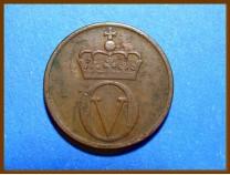 Монета Норвегия 2 эре 1965 г.