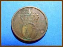 Монета Норвегия 2 эре 1959 г.
