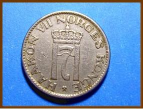 Монета Норвегия 50 эре 1956 г.