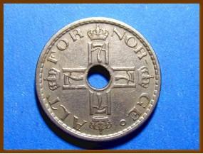 Монета Норвегия 50 эре 1941 г.