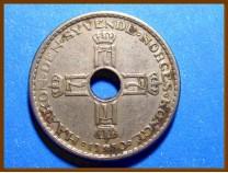 Монета Норвегия 1 крона 1950 г.