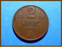 Монета Норвегия 2 эре 1937 г.