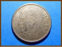 Монета Норвегия 1 крона 1964 г.