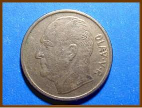 Монета Норвегия 1 крона 1963 г.