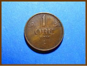 Монета Норвегия 1 эре 1936 г.