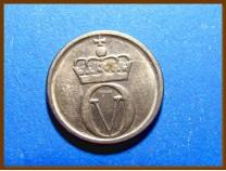 Монета Норвегия 10 эре 1966 г.
