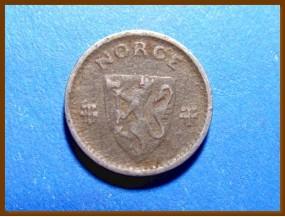 Монета Норвегия 10 эре 1942 г.
