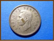 Южная Африка ЮАР 6 пенсов 1952 г. Серебро