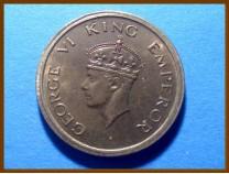 Индия 1 рупия 1947 г.