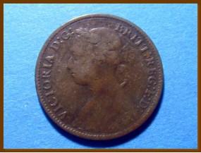 Великобритания фартинг 1886 г.