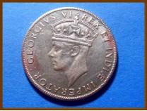 Восточная Африка 1 шиллинг 1941 г. Серебро